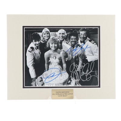 """""""The Love Boat"""" Signed Cast Television Series Photo Print, COA"""