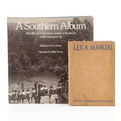 """Signed Limited First Edition """"A Southern Album"""" by Irwin Glusker and More"""