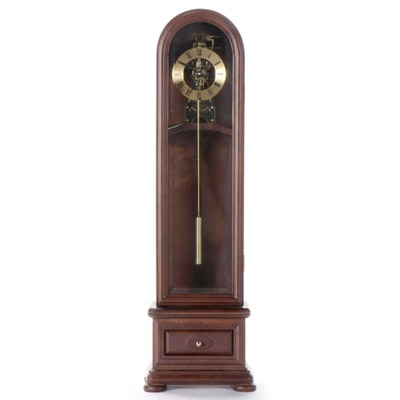 Tabletop Grandfather Clock Style Dome Top Clock