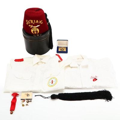 Masonic Cincinnati Syrian Shrine Drum & Bugle Corps Memorabilia and More