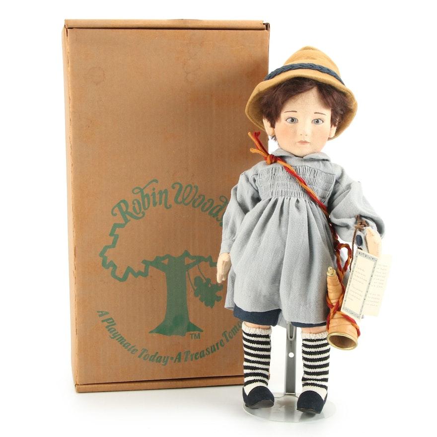 """R. John Wright """"Little Boy Blue"""" Limited Edition Felt Doll"""