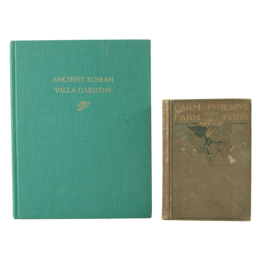 """Ancient Roman Villa Gardens"" and ""Farm Friends and Farm Foes"""