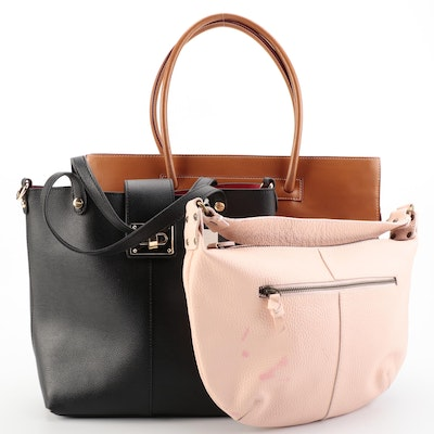 Gap Blush Hobo Bag with Other Tote Bags