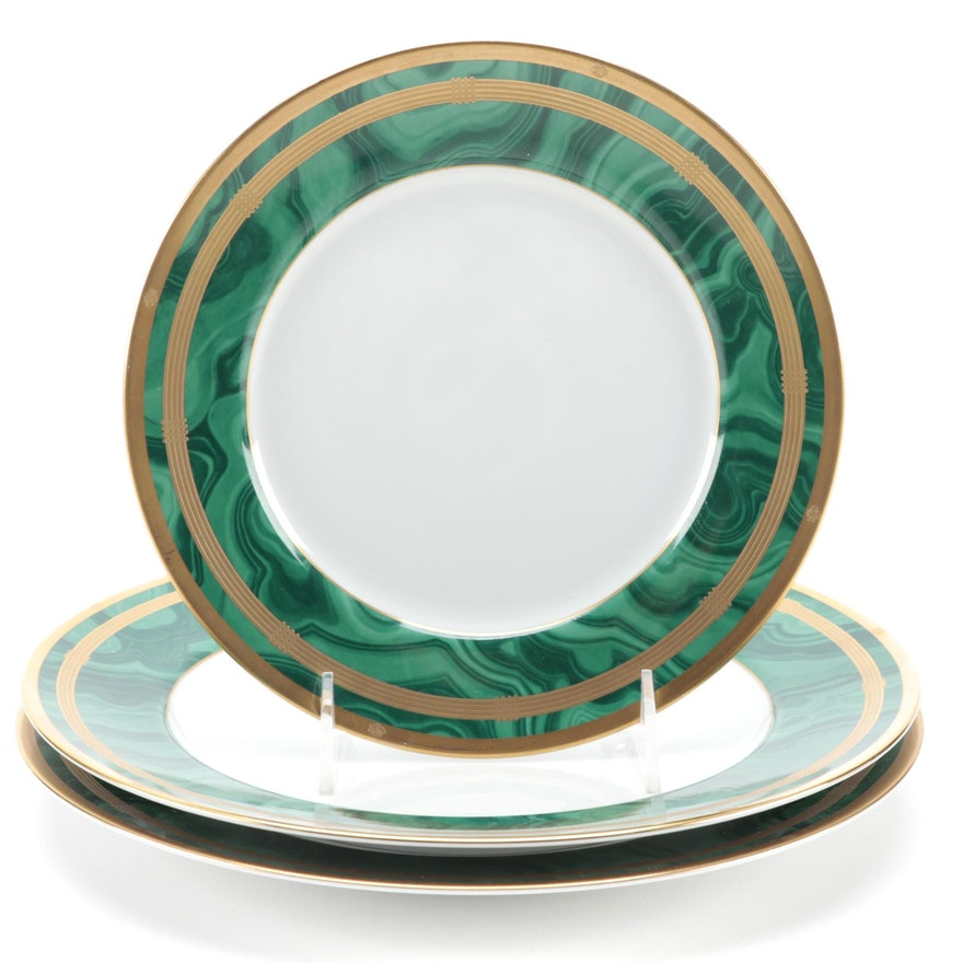 "Christian Dior ""Malachite"" Porcelain Dinnerware, 1991–1999"