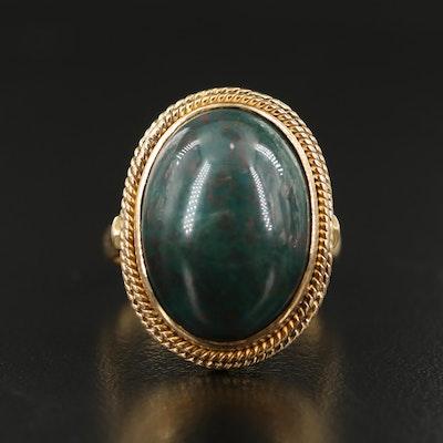 Vintage 14K Bloodstone Ring