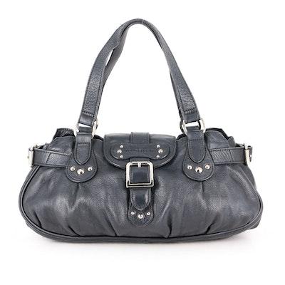 Longchamp Idol Handbag in Black Leather