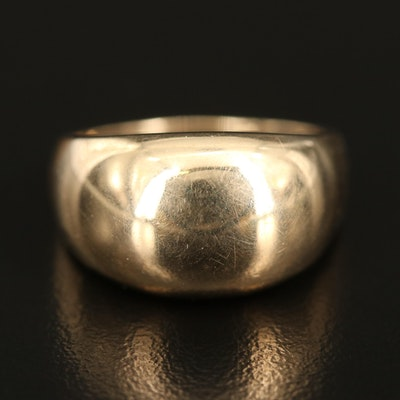 14K Dome Ring