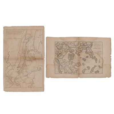 "Engraving Maps for ""The Life of George Washington,"" Circa 1803"