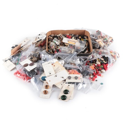 Buttons, Thread and Other Sewing Accessories