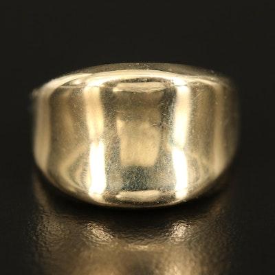 14K Saddle Ring