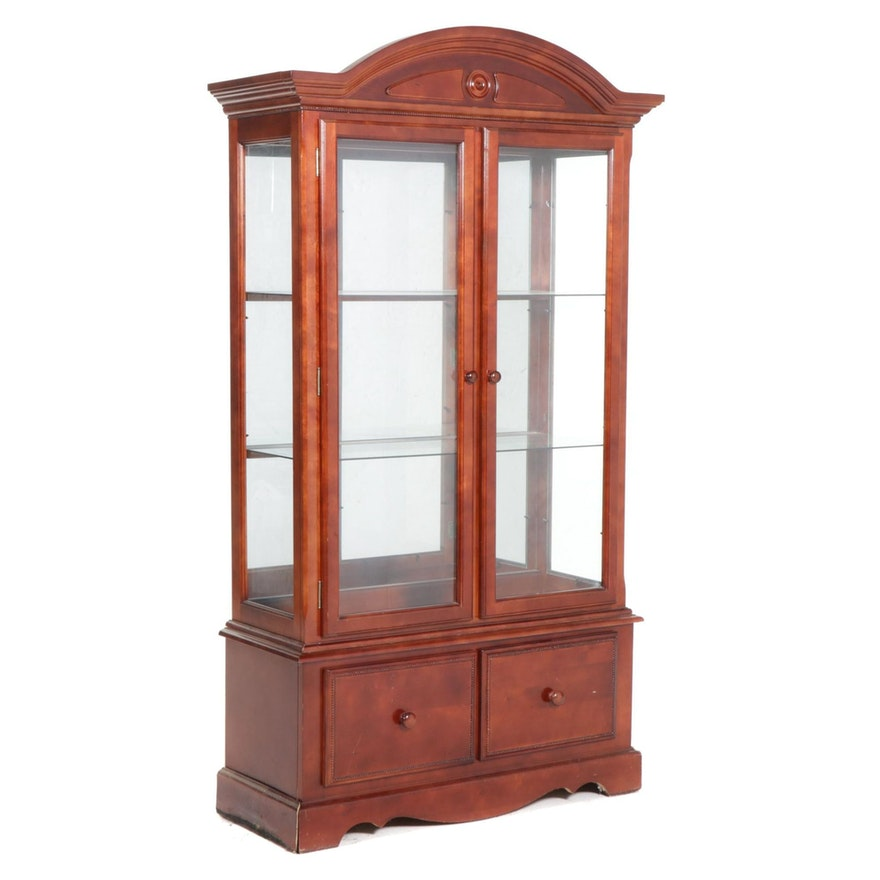 Ashley Furniture Illuminated Display Cabinet
