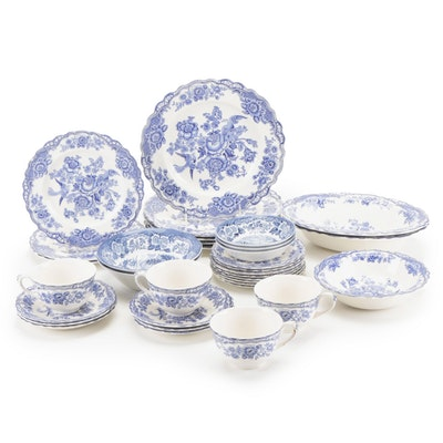 "Crown Dutch ""Bristol"" Ironstone Dinnerware and Other Ironstone Dinnerware"