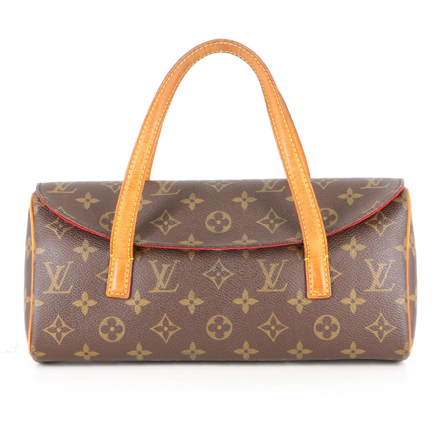 Louis Vuitton Sonatine in Monogram Coated Canvas and Vachetta Leather
