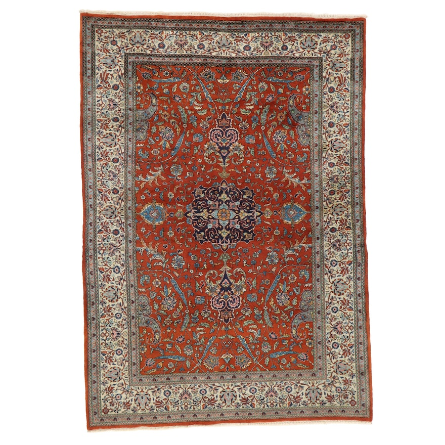 5'1 x 7'4 Hand-Knotted Area Rug