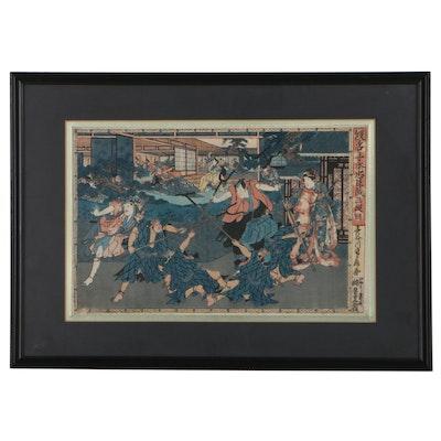 Hasegawa Sadanobu II Woodblocks of Kabuki Plays