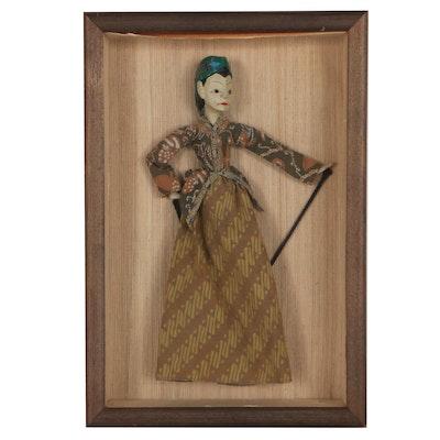 Javanese Wayang Golek Rod Puppet