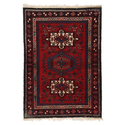 3'6 x 5'1 Hand-Knotted Area Rug