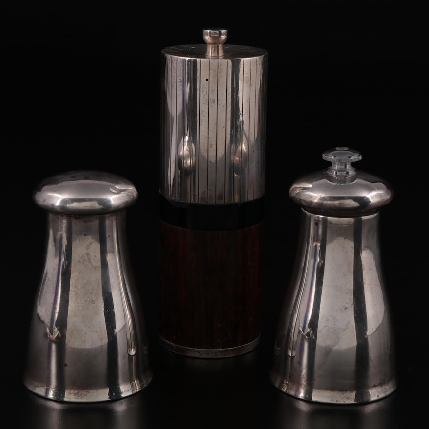 Towle and Alvin Sterling Silver Spice Grinders