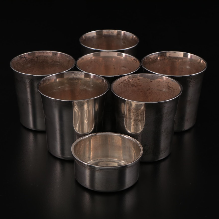 Tiffany & Co. Reproduction Ludwig Heck Sterling Silver Shot Cups