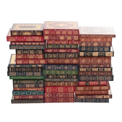 "Easton Press ""100 Greatest Books Ever Written"" Partial Series"