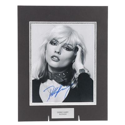 "Debbie Harry ""Blondie"" Signed Singer and Songwriter Photo Print, COA"