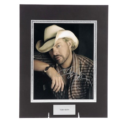 Toby Keith Signed Country Singer, Songwriter, and Actor Photo Print, COA