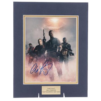 "Chris Pratt Signed ""The Tomorrow War"" Movie Photo Print, COA"