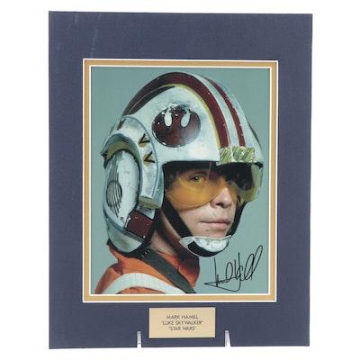 "Mark Hamill ""Luke Skywalker"" Signed ""Star Wars"" Movie Photo Print, COA"