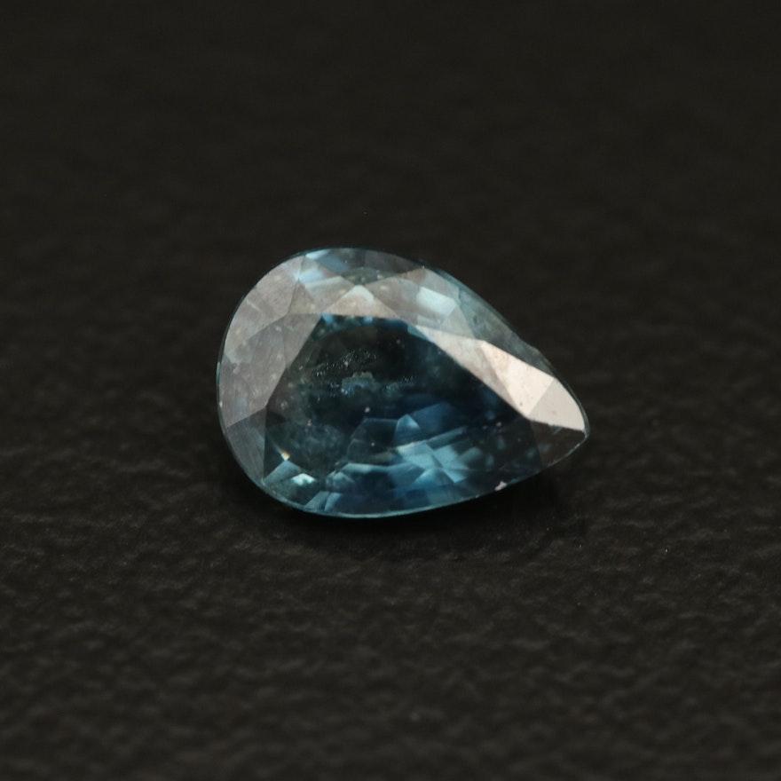 Loose 0.72 CT Sapphire
