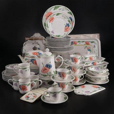 "Villeroy & Boch ""Ampola"" Porcelain Dinnerware and Serveware, 1978–2001"