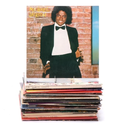 Michael Jackson, Elton John, Prince, The Police and Other Vinyl Records