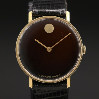 Vintage Movado Museum Wristwatch