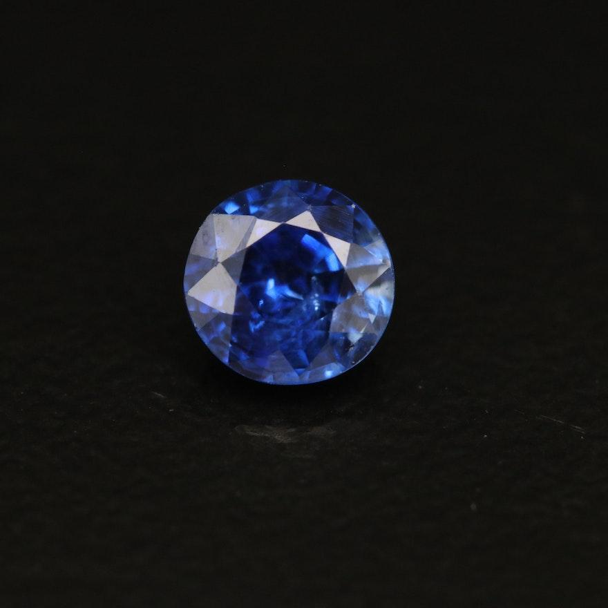 Loose 0.61 CT Sapphire