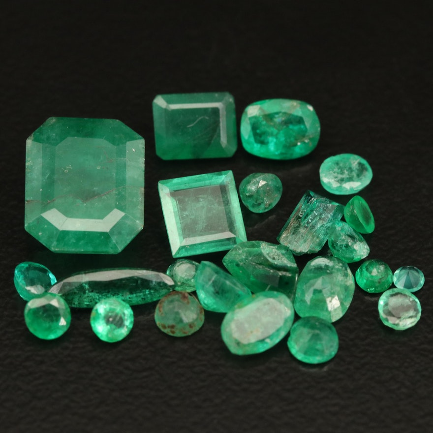 Loose 8.80 CTW Emeralds