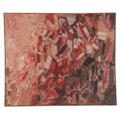 Don Stacy Large-Scale Abstract Oil Painting