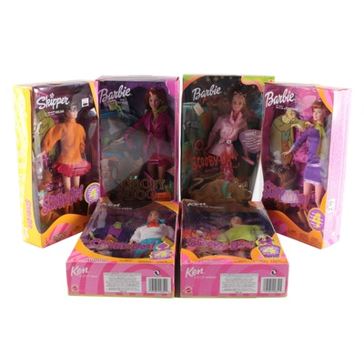 """Mattel Barbie """"Shaggy"""", """"Velma"""" and Other Special Edition """"Scooby-Doo"""" Dolls"""