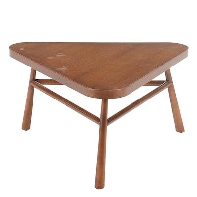 T.H. Robsjohn-Gibbings for Widdicomb Mid Century Modern Walnut Coffee Table