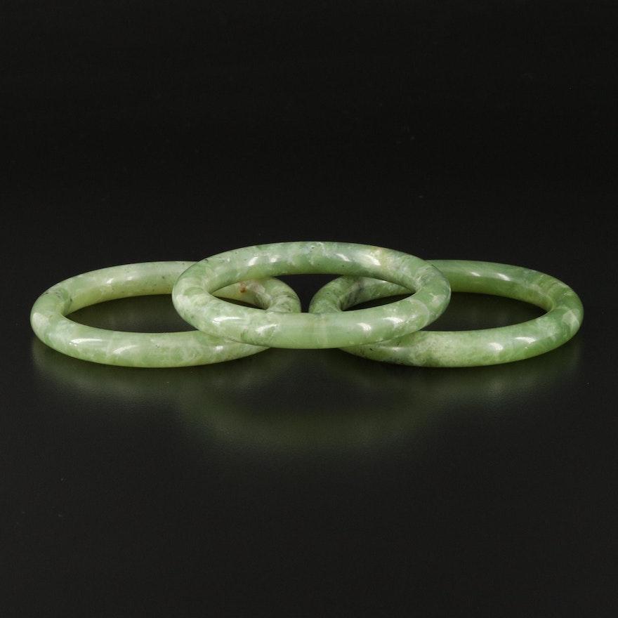 Hololith Serpentine Bangles