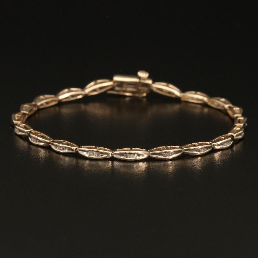 14K 0.32 CTW Diamond Bracelet