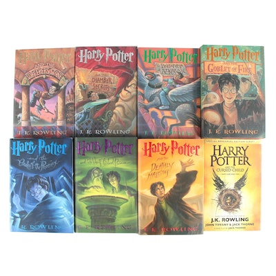 """First American Edition """"Harry Potter"""" Complete Series with """"The Curse Child"""""""