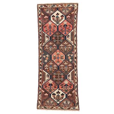 3'8 x 9'6 Hand-Knotted Persian Bakhtiari Long Rug