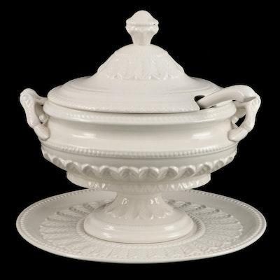 John Wanamaker & Co. Italian Glazed Earthenware Soup Tureen