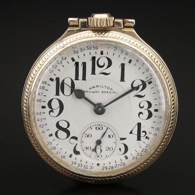 1954 Hamilton Railway Special Pocket Watch