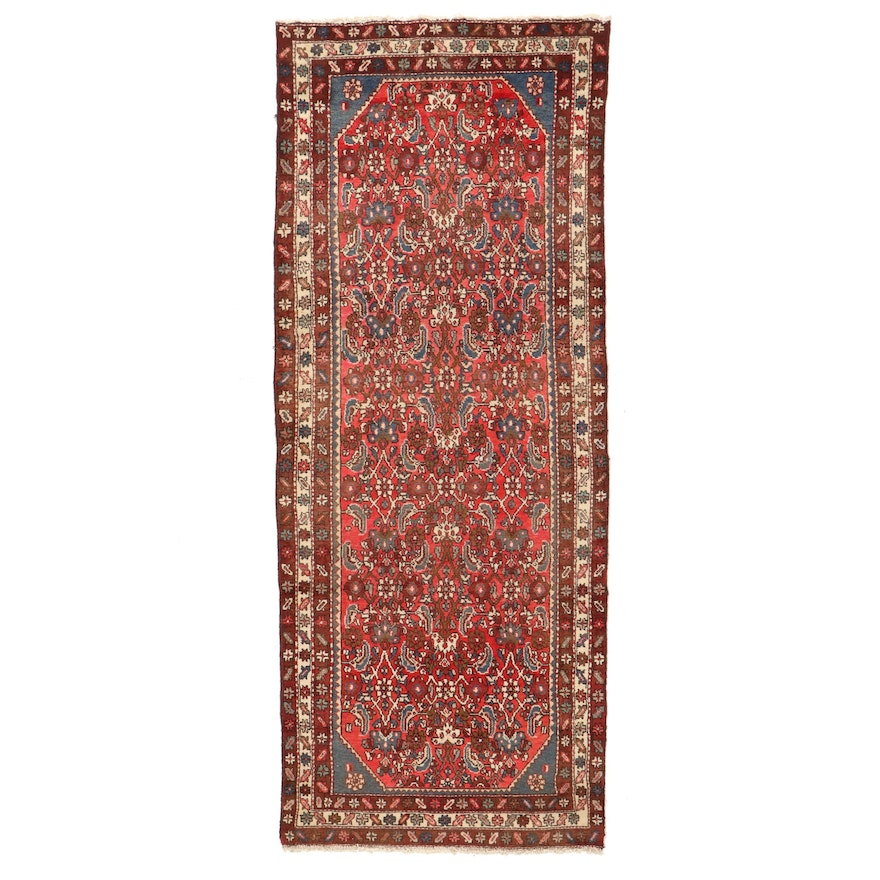 3'11 x 10' Hand-Knotted Persian Long Rug