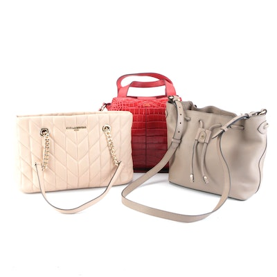Karl Lagerfeld, Vince Camuto, and Radley London Tote, Crossbody, and 2-Way Bags