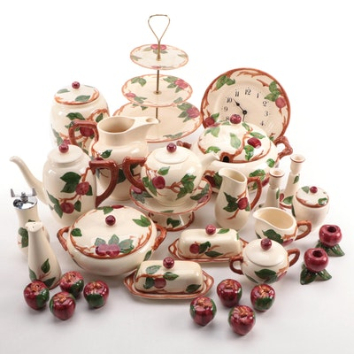 "Franciscan ""Apple"" Ceramic Serveware and More"