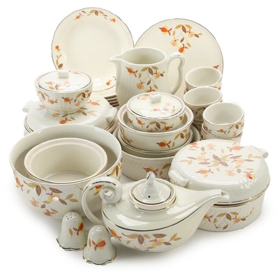 "Hall's Superior ""Autumn Leaf Ceramic Kitchenware, Mid to Late 20th Century"