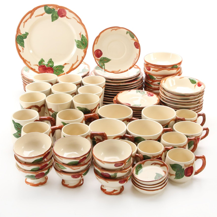 "Franciscan ""Apple"" Ceramic Dinnerware"