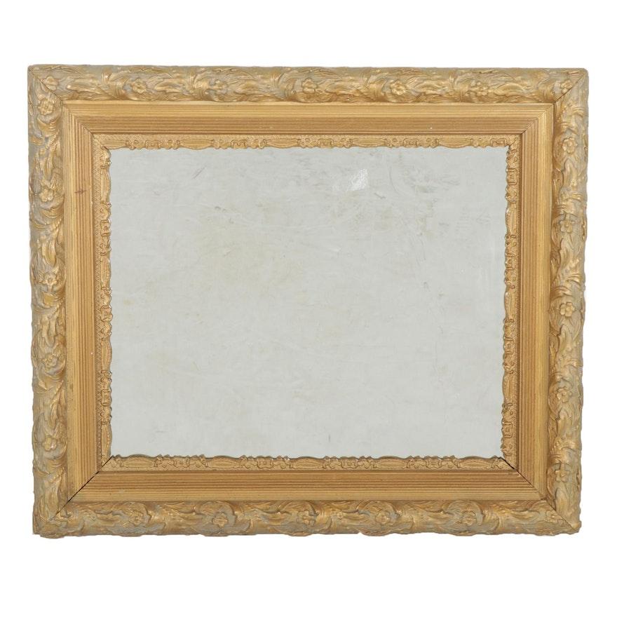 Gilt Wood Wall Mirror