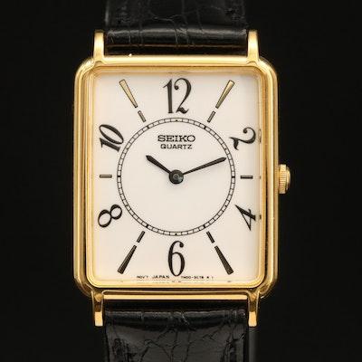 Seiko SFP396 Gold Tone Quartz Wristwatch